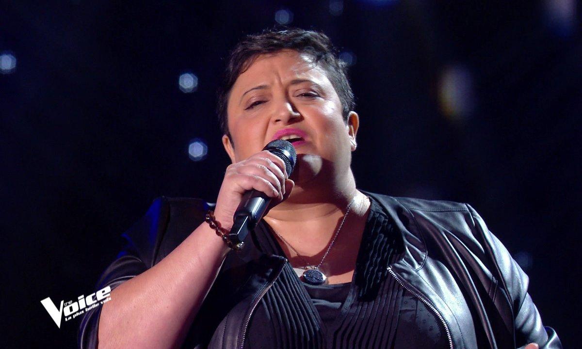 """The Voice 2021 – Mylène Angels chante """"Le France"""" de Michel Sardou"""