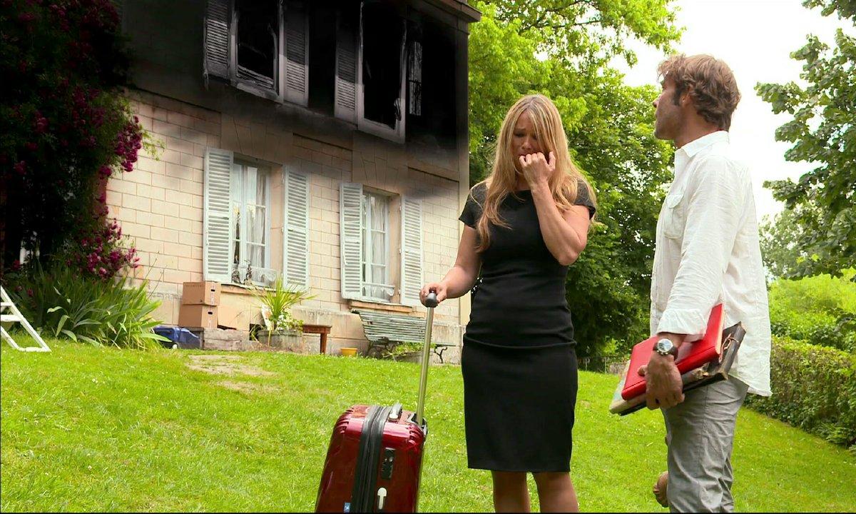 Saison 7 ! Nicolas et Hélène, dépités par l'incendie...