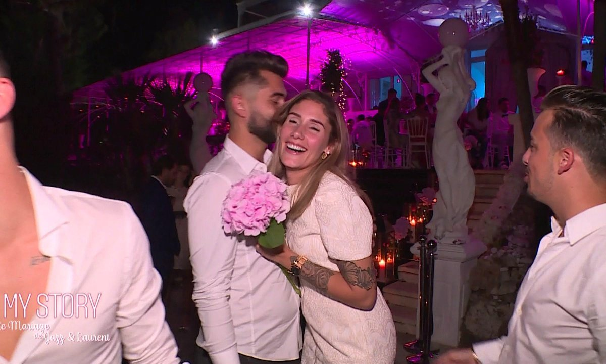 Laurent offre le bouquet de Jazz à Jesta : Mariée dans l'année ?