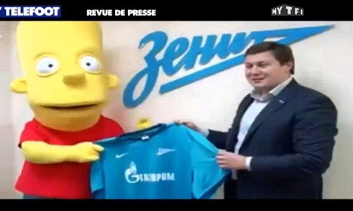 MyTELEFOOT - La Revue de Presse : Bart Simpson transféré au Zenith !