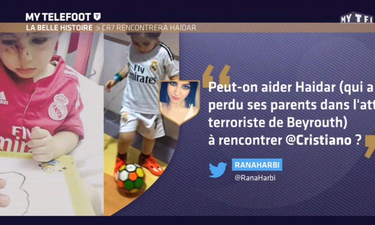 MyTELEFOOT – La belle histoire : Haidar va rencontrer Cristiano Ronaldo !