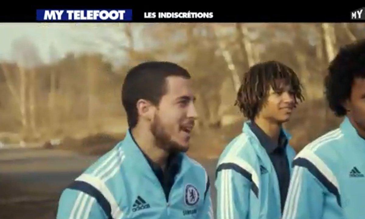MyTELEFOOT - Les Indiscrétions avec Hazard et Chelsea qui s'amusent !