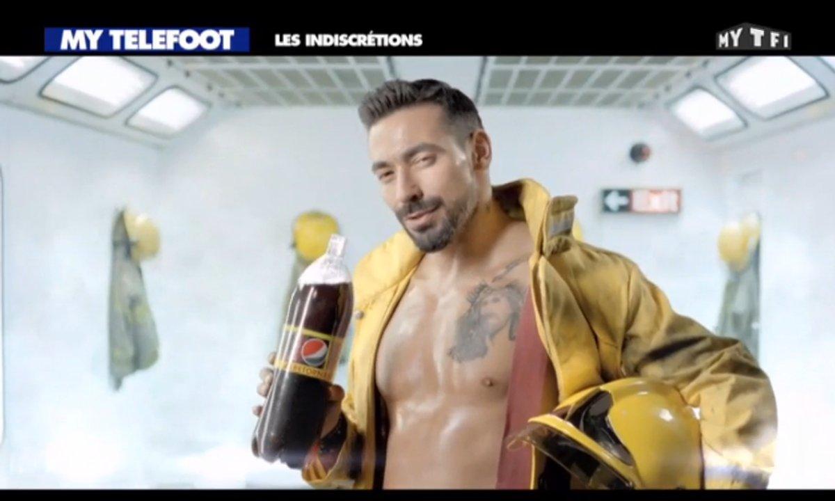 MyTELEFOOT - Les Indiscrétions : Ezequiel Lavezzi déguisé en pompier pour une publicité