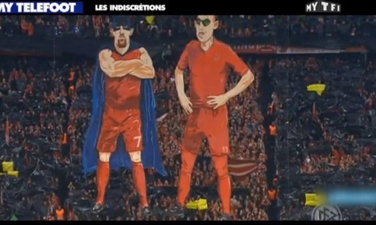 MyTELEFOOT - Les Indiscrétions : Ronaldo, Ribéry, Robben, Messi