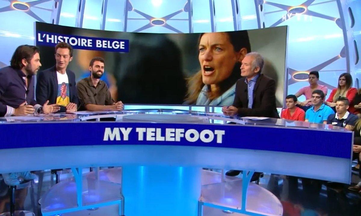MyTELEFOOT - L'Histoire Belge : Corinne Diacre