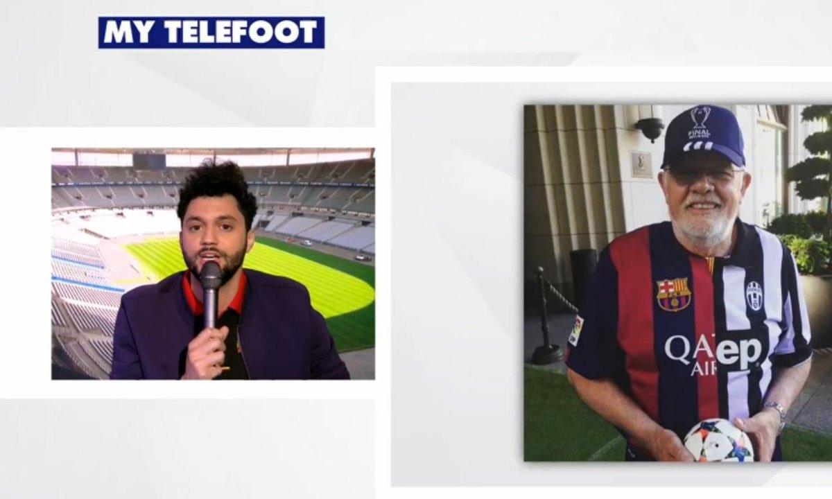 MyTELEFOOT - Tony Saint Laurent spécial Juve-Barça
