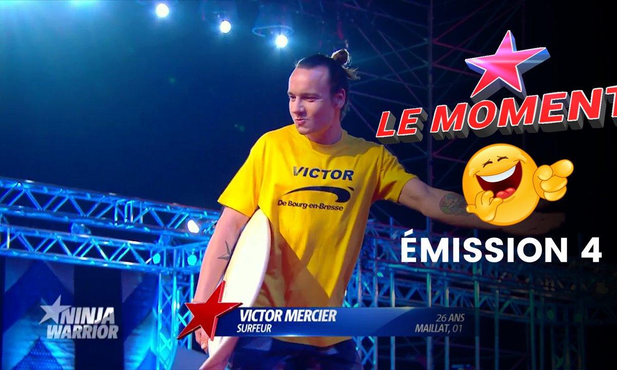 Victor de Bourg-en-Bresse : un candidat qui va faire des vagues - Ninja Warrior