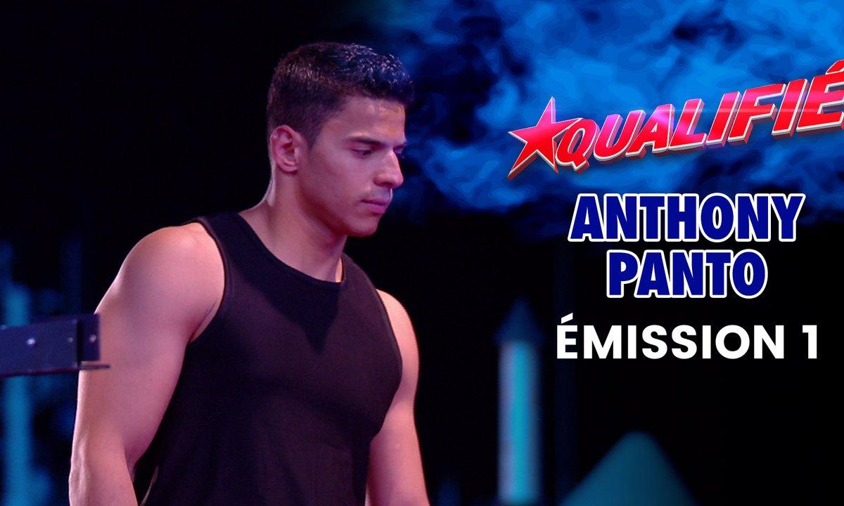 Demi-finale : Anthony Panto frime en haut de la cheminée - Ninja Warrior