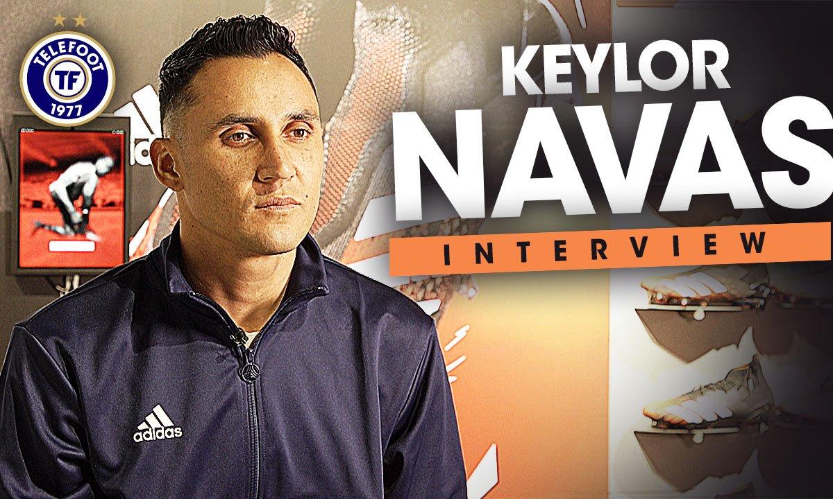 """EXCLU - Keylor Navas : """"Je veux toujours gagner, encore et encore"""""""