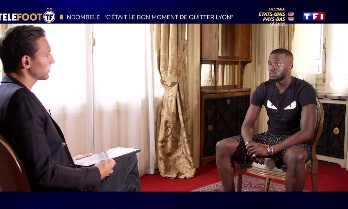 """Ndombele : """"C'était le bon moment de quitter Lyon"""""""