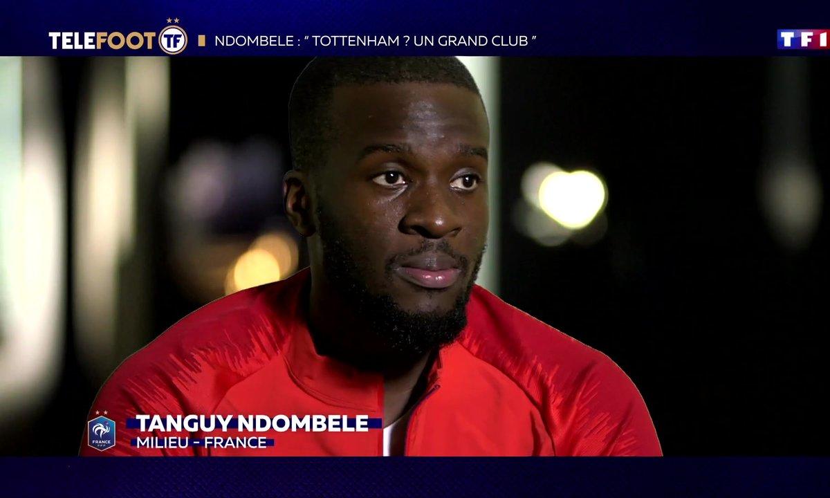 "Ndombele : ""Tottenham ? Un grand club"""