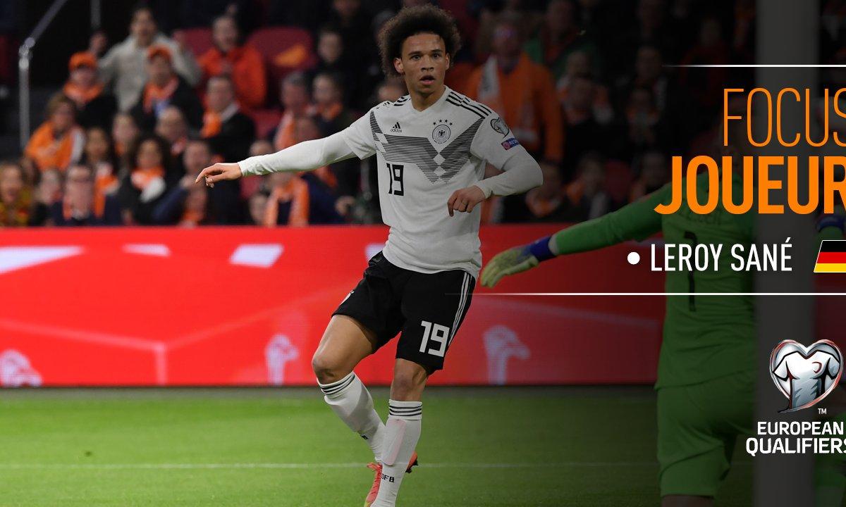 Pays-Bas - Allemagne : Voir le match de Leroy Sané en vidéo