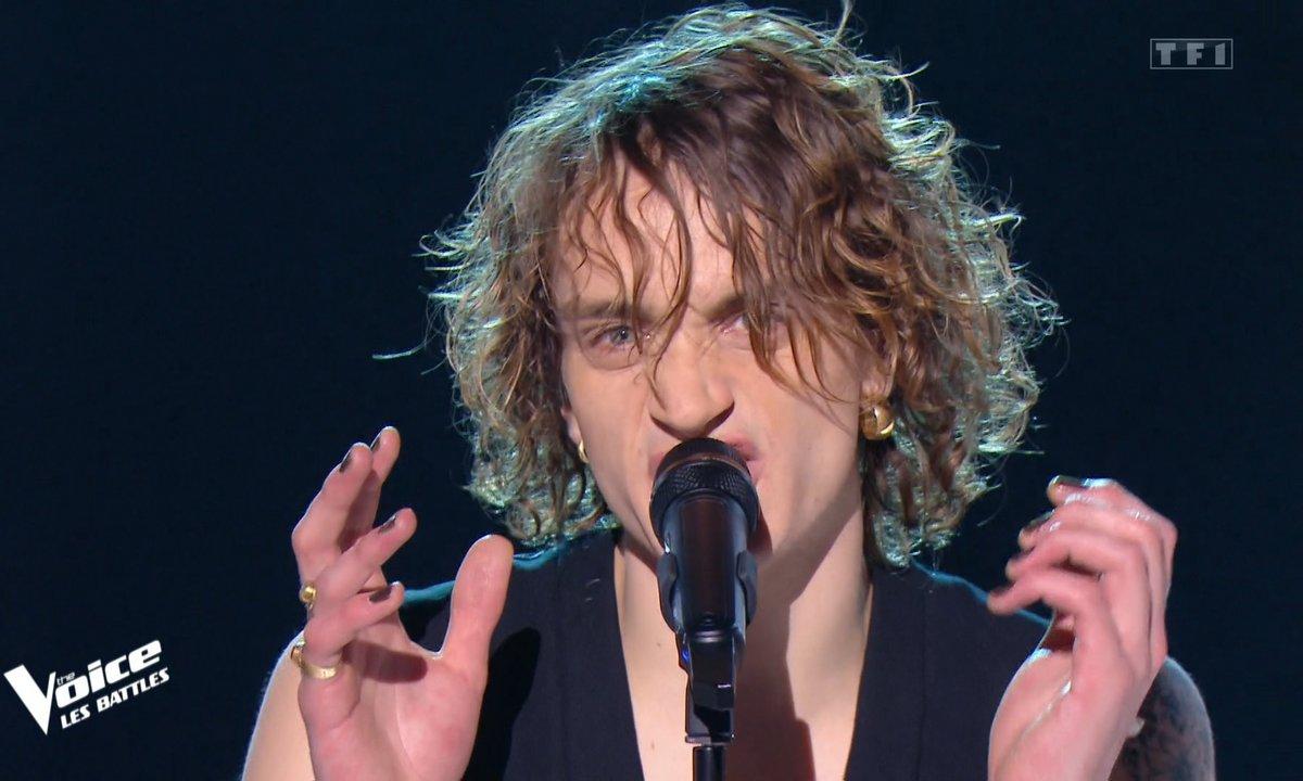 """The Voice 2021 - Néo (Xam Huricane et Michael Bucquet) chante """"Tout plaquer"""""""