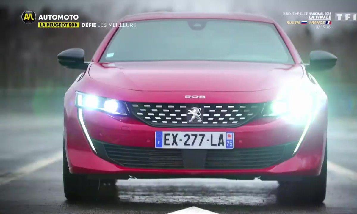 La Peugeot 508 défie les meilleures