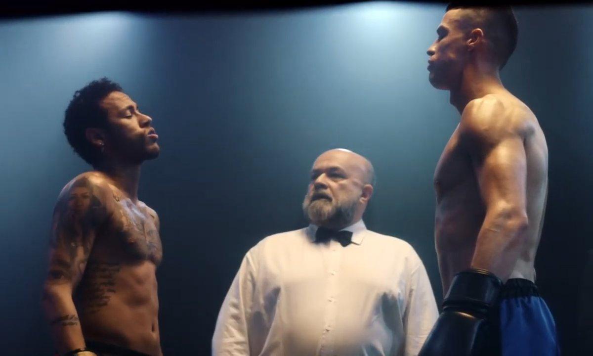 INSOLITE - Un combat de boxe entre Neymar et Ronaldo pour une pub