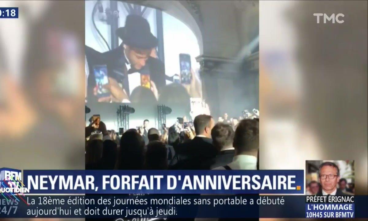 Neymar provoque la colère de Sochaux
