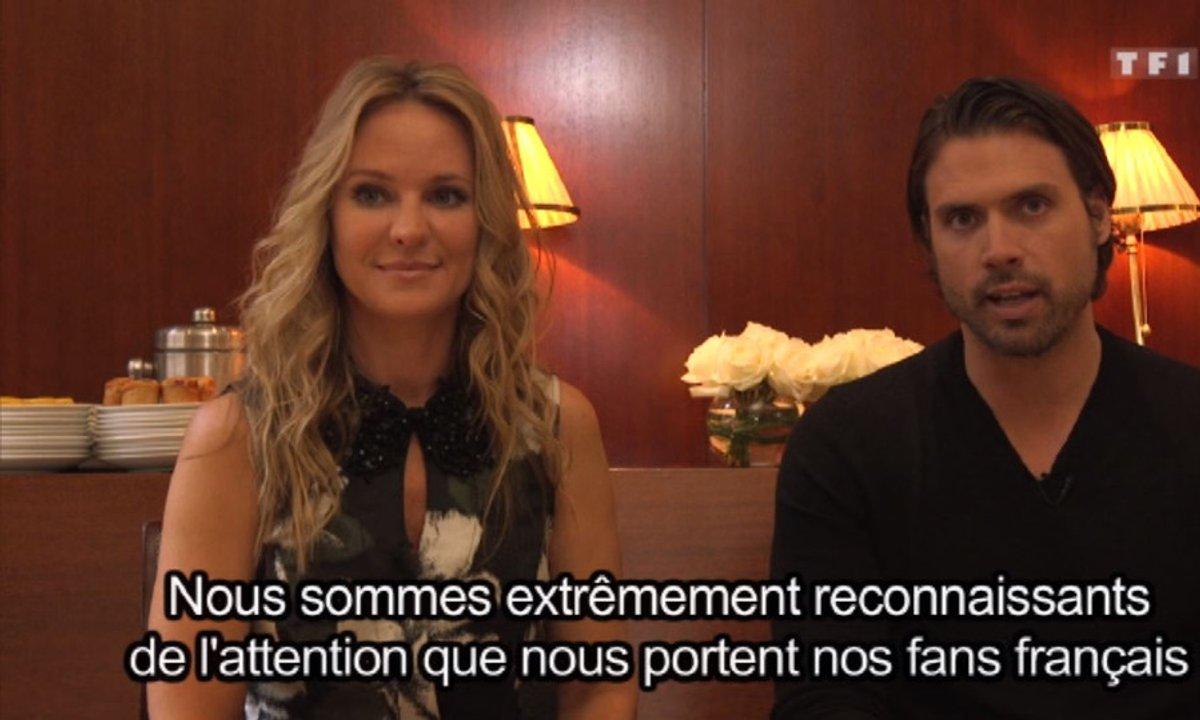 EXCLU ! Nick et Sharon, complices à Paris !