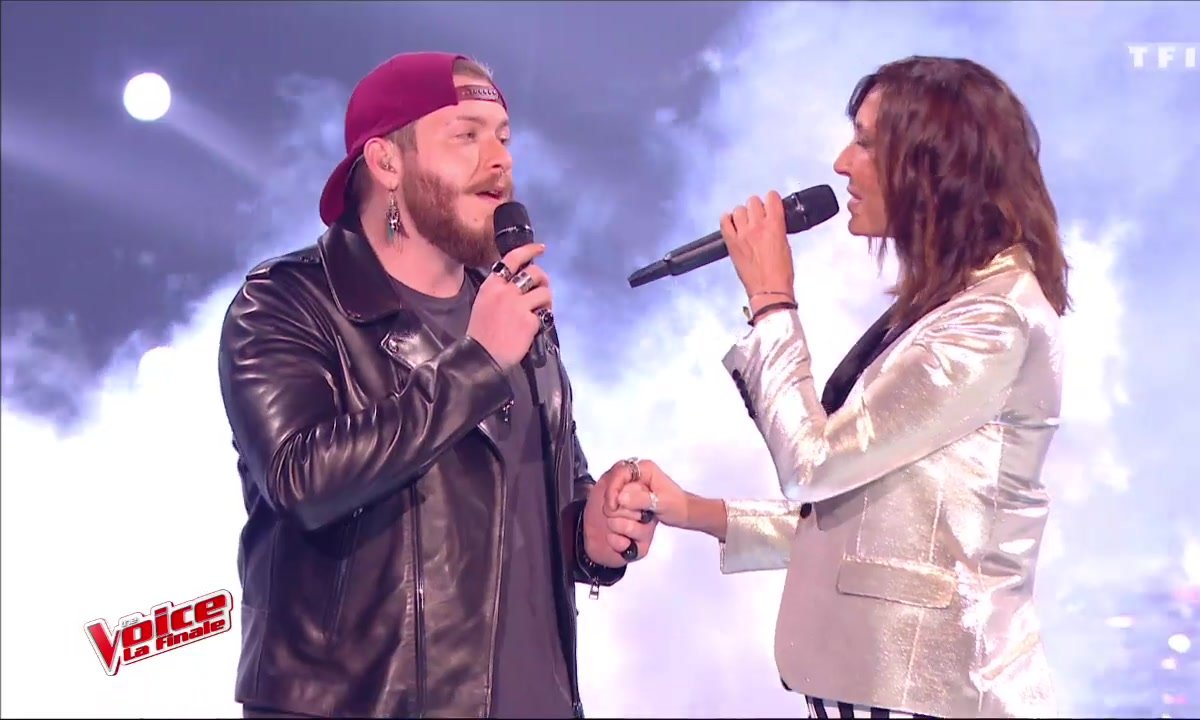 Nicola Cavallaro et Zazie - « Time After Time » - (Cyndi Lauper) (La finale en direct – Saison 6)