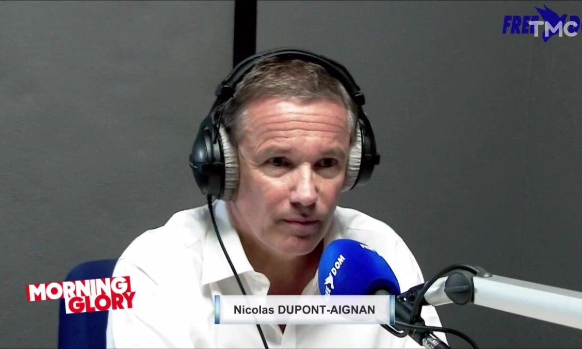 Nicolas Dupont-Aignan à la Réunion: rien que pour cette interview, ça valait le déplacement