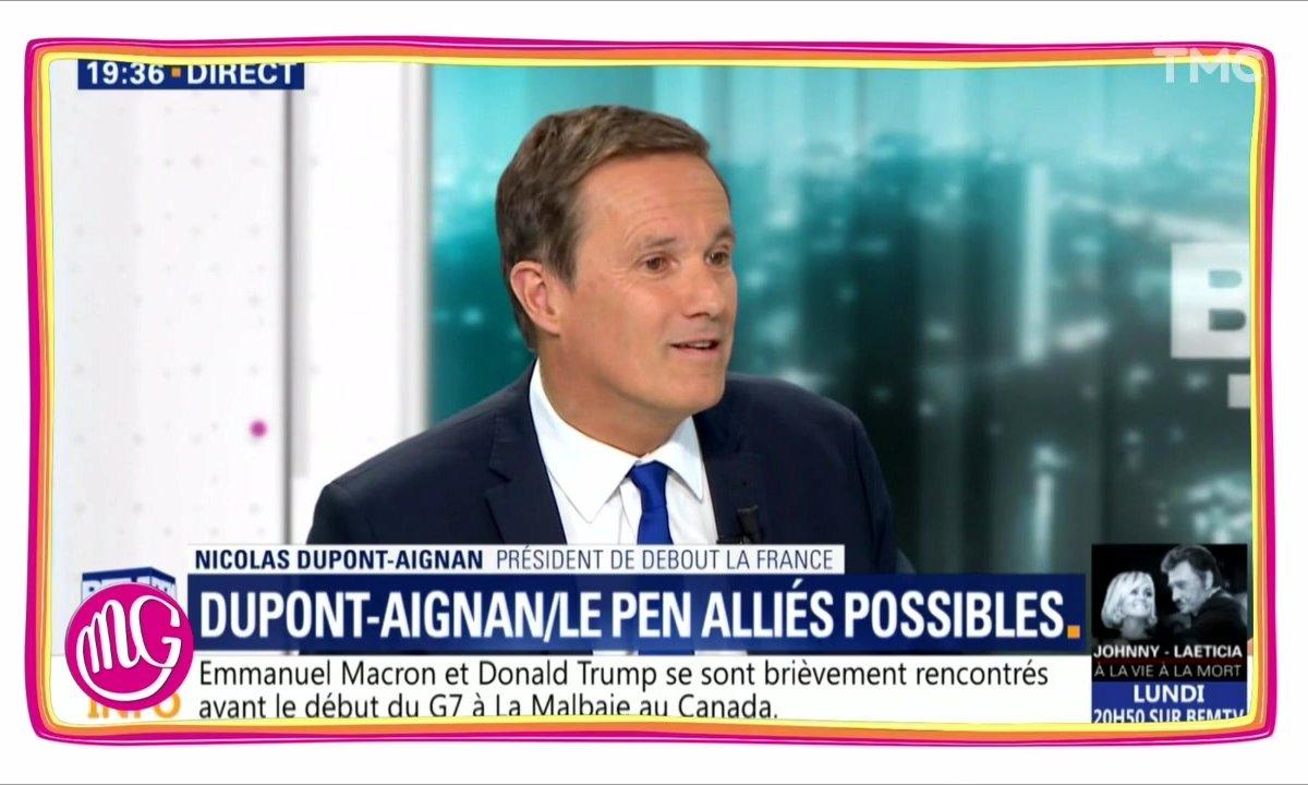 Nicolas Dupont-Aignan : faites ce que je dis, pas ce que je fais