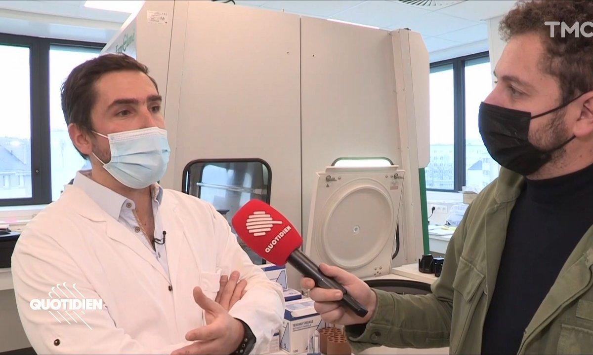 Nicolas Poirier, l'homme qui prépare un Super Vaccin contre tous les variants du Covid