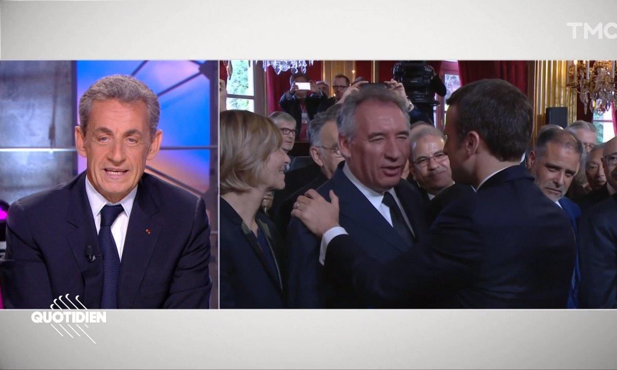 """Nicolas Sarkozy tacle François Bayrou : """"Qui a trahi, trahira"""""""