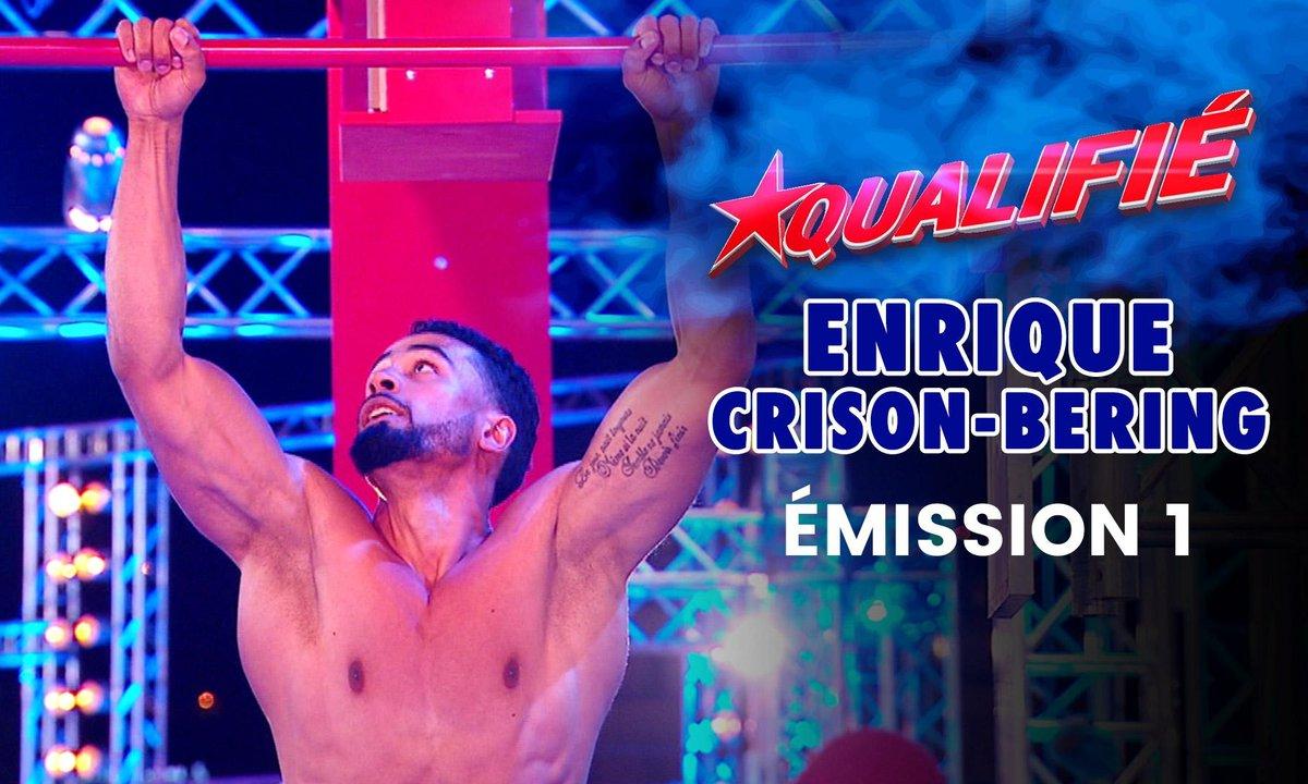 Pas vu à la TV / Demi finale : Le parcours d'Enrique Crison en intégralité - Ninja Warrior