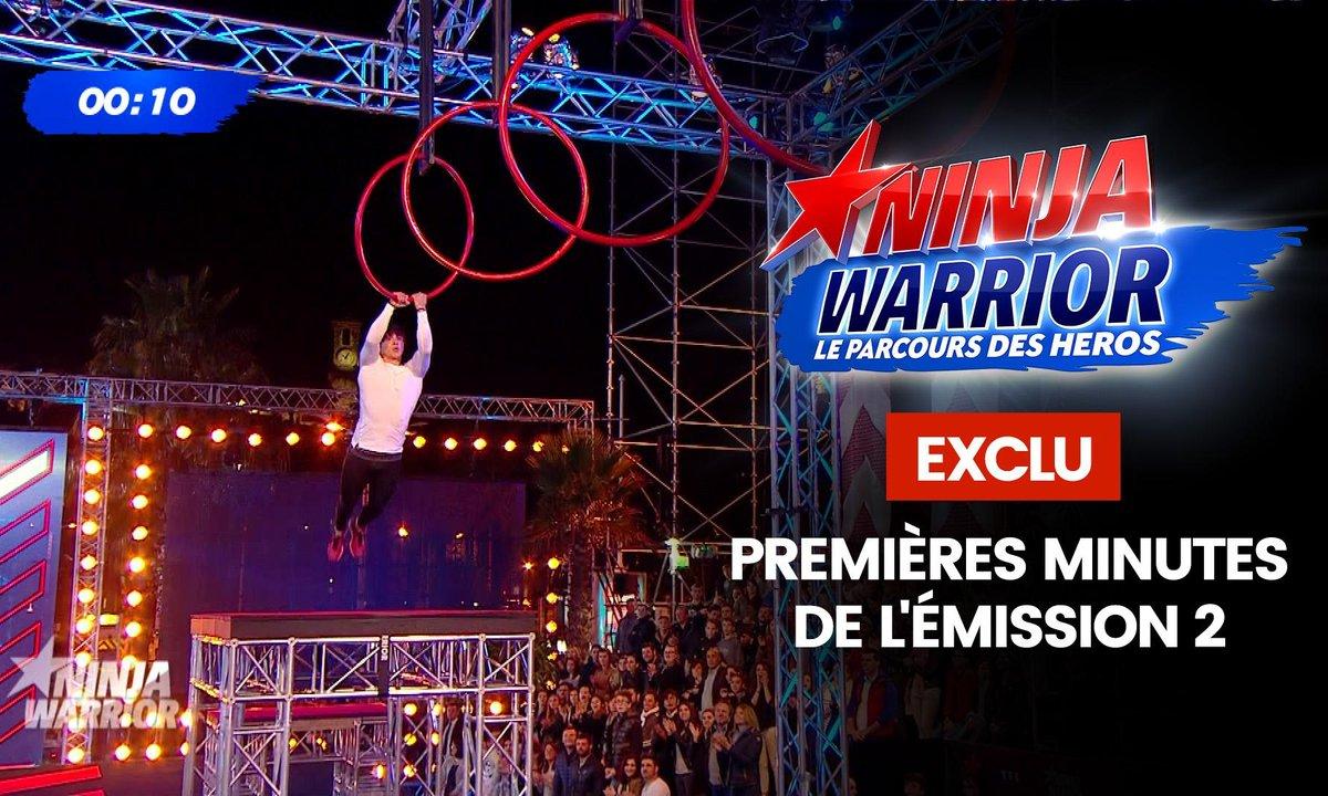 Exclu : les premières minutes du deuxième prime - Ninja Warrior