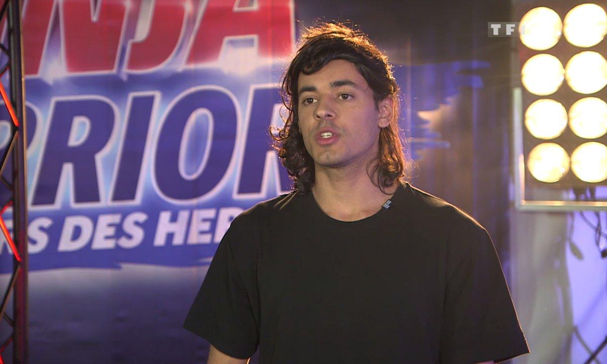 "Valentin Dubois : ""je viens finir ce que j'ai commencé""- Ninja Warrior"