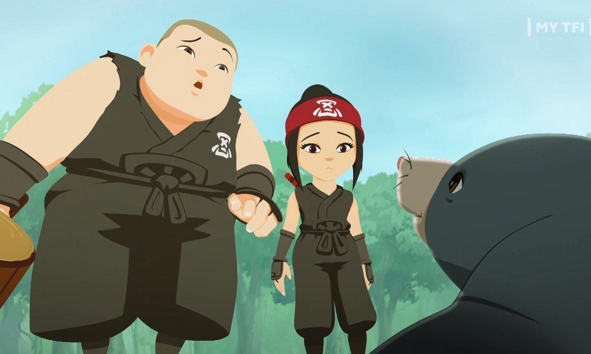 Mini Ninjas - S02 E43 - Ninjas sous Cloche