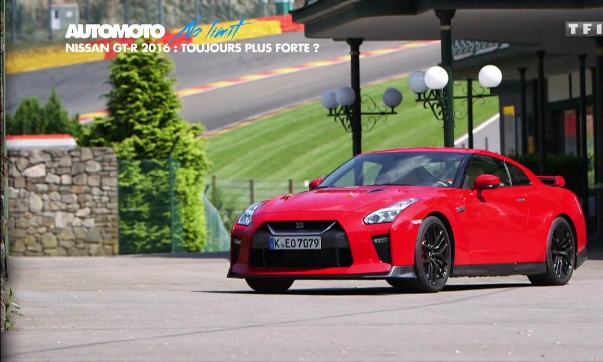 No Limit : La Nissan GT-R 2016 en essai à Spa-Francorchamps