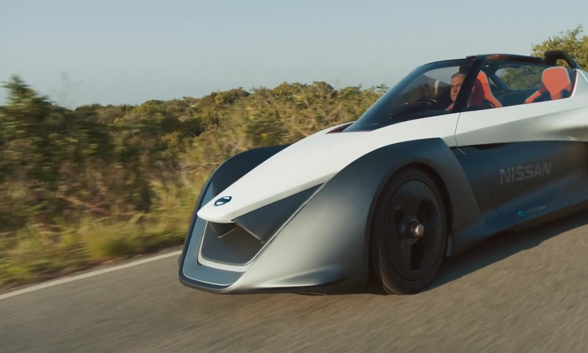 Nissan GladeBlider Concept 2016 : l'électrique sportive alternative