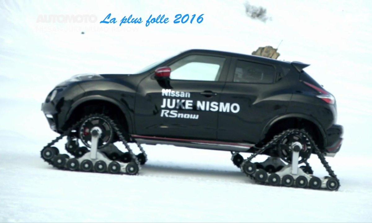 Sondage Automoto : la Voiture Folle de l'Année 2016 est la Nissan Juke Nismo RSnow