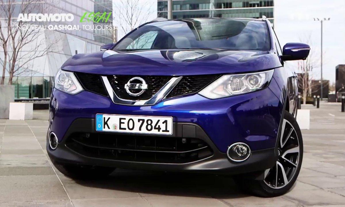 Essai Vidéo : nouveau Nissan Qashqai 2014, toujours au top !