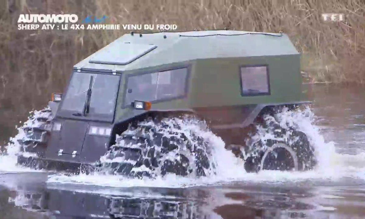 No Limit : Sherp ATV, le 4x4 amphibie venu du froid