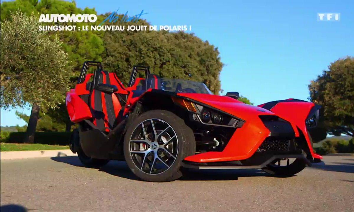 No Limit : Polaris Slingshot, une sportive insolite à 3 roues
