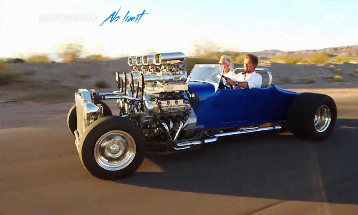 No Limit - Un Hot Rod de 1 200 chevaux !