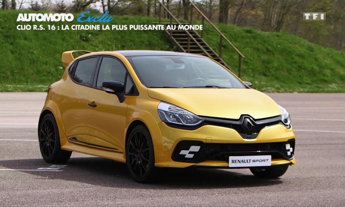 No Limit : la Renault Clio R.S.16 en exclusivité