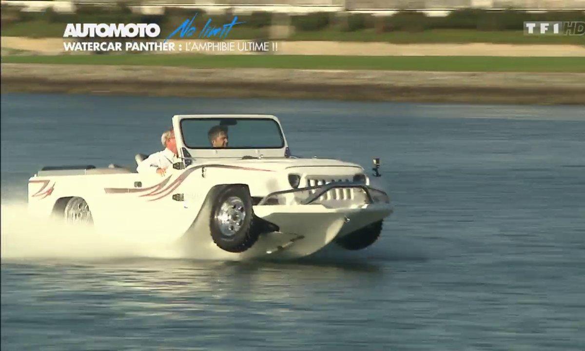 No Limit : WaterCar Panther, l'insolite amphibie