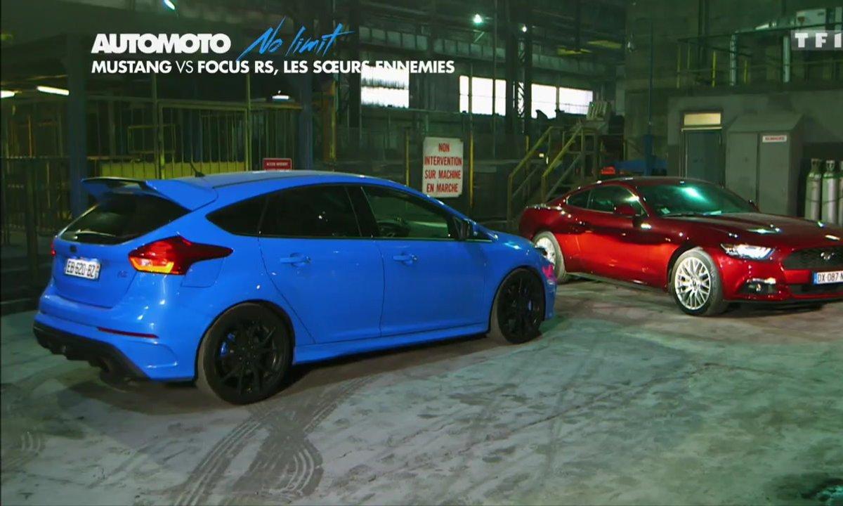 No Limit : Mustang vs Focus RS, les sœurs ennemies de Ford !