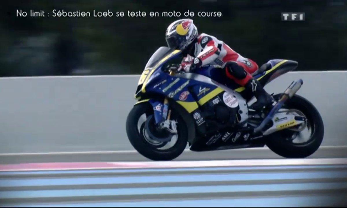 No Limit - Exclu : Sébastien Loeb sur la Moto2 de Louis Rossi