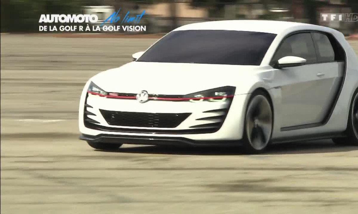 No limit : les Volkswagen Golf R et Vision GTI