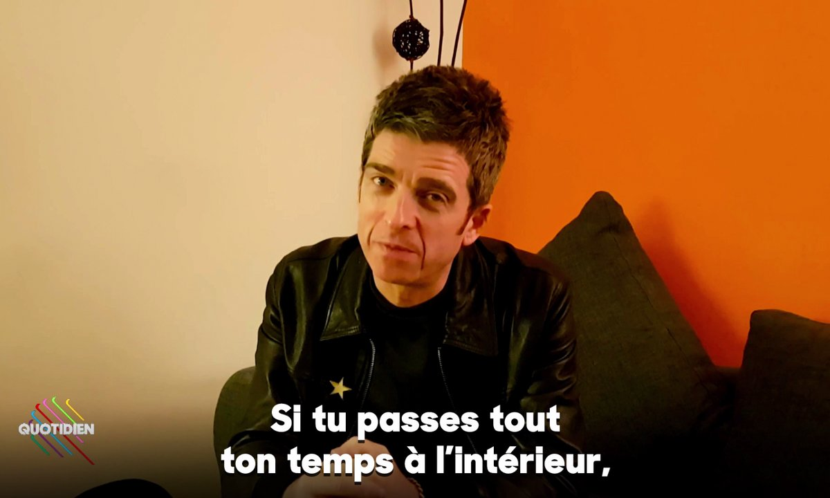 Qoulisses avec Noel Gallagher !