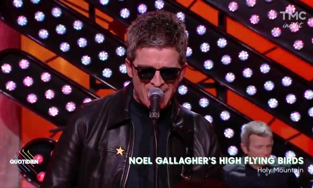 "Noel Gallagher's High Flying Birds : ""Holy Mountain"" en live dans Quotidien"