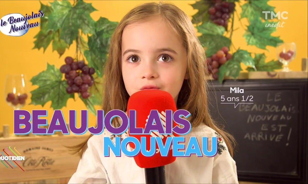 Nora a la réponse : le Beaujolais nouveau !