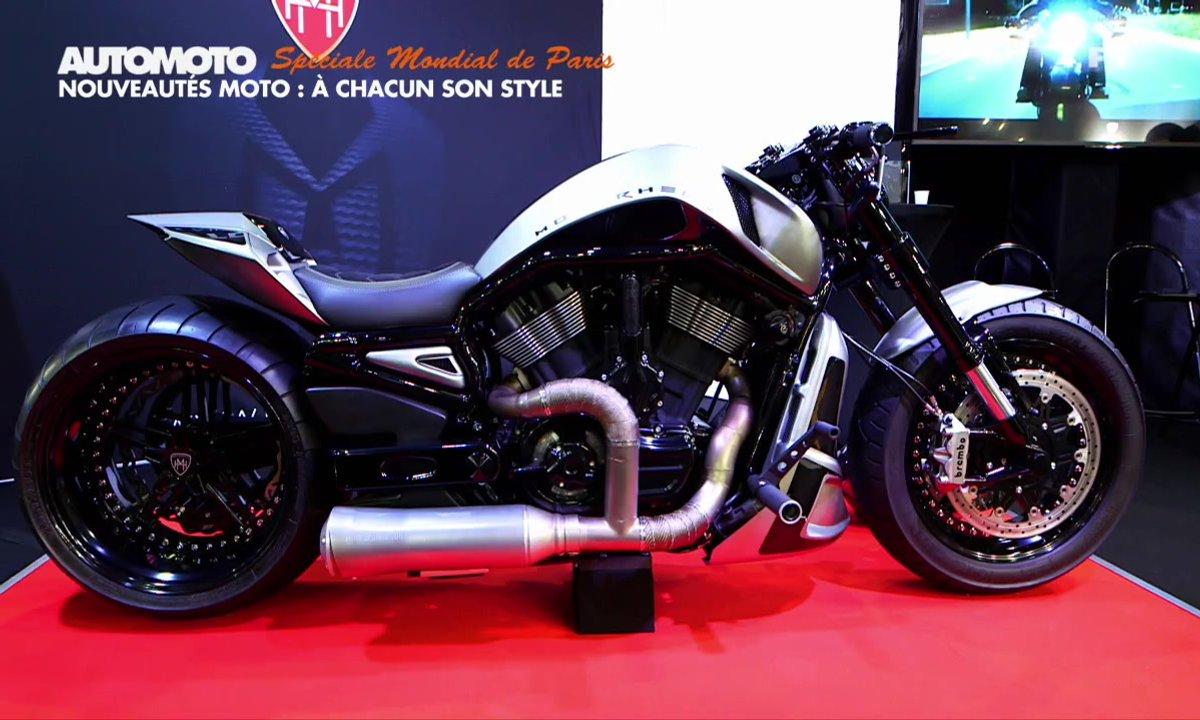 Mondial de l'Auto - Nouveautés Moto : A chacun son style !