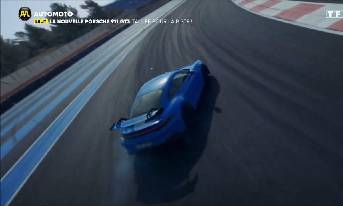 VIDEO - Découvrez la nouvelle Porsche 911 GT3 !