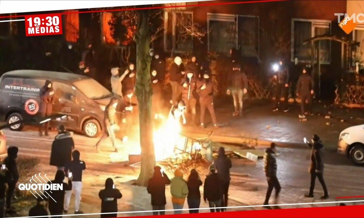 Nouvelle nuit de tensions aux Pays-Bas après la mise en place du couvre-feu