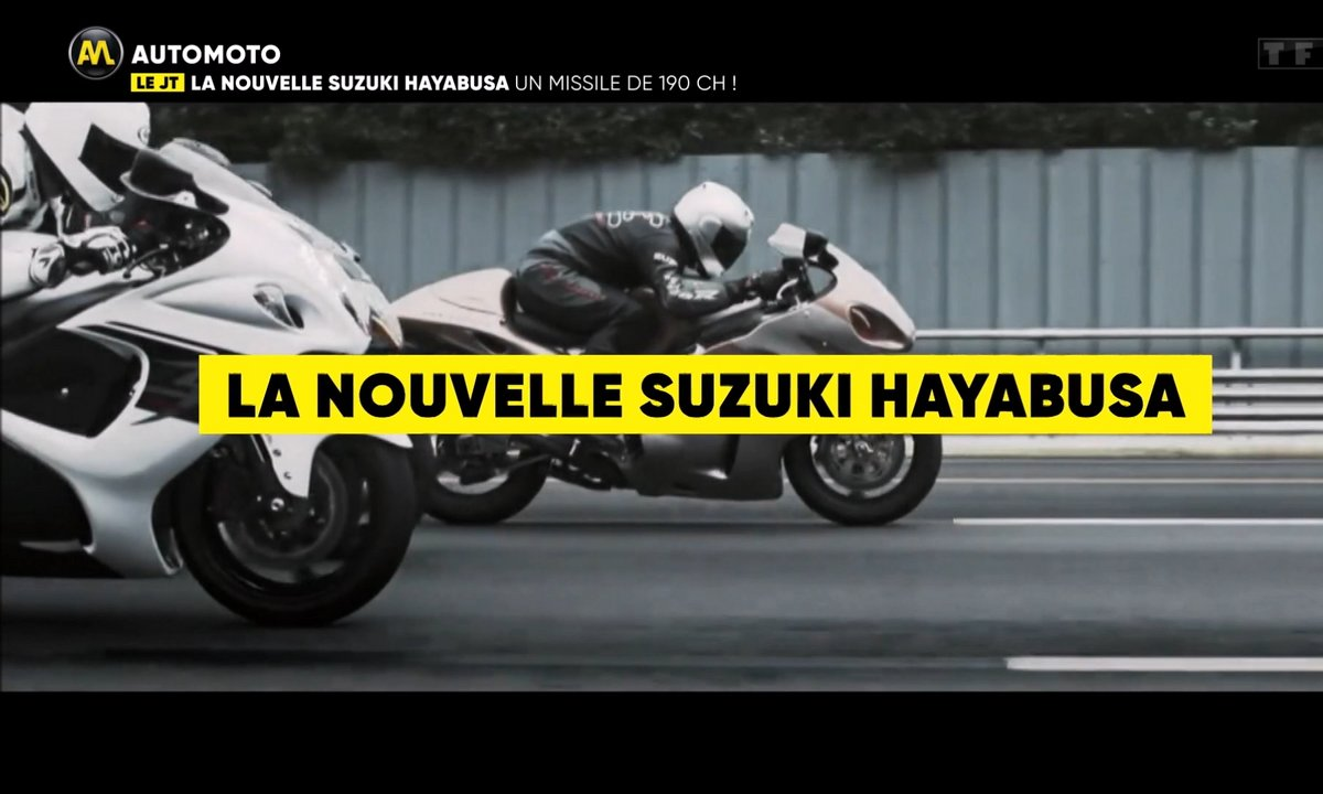 VIDEO - La nouvelle Suzuki Hayabusa