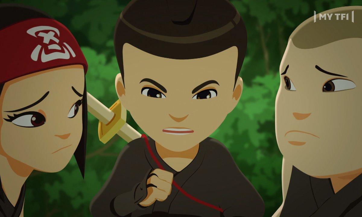 Mini Ninjas - S02 E46 - La Nouvelle Voisine